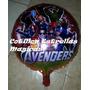 Avengers / Vengadores 10 Globos Metalizados Cotillon