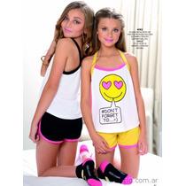Pijama De Verano Marcela Koury Teen