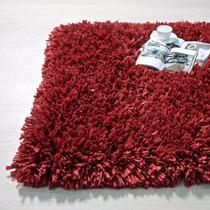 Tapete Shaggy Vanua Rojo 1.80x1.20 Vianney Envio Gratis