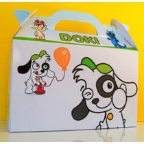 Bolsita Valijita Doki Souvenir Infantiles Pack X40
