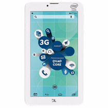Tablet Dl Socialphone 3g 7 Polegadas Dual Chip 8gb Tx316bra