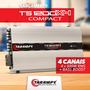 Modulo Taramps Ts 1200x4 1200w Rms 4 Ch 2 Ohms Compact
