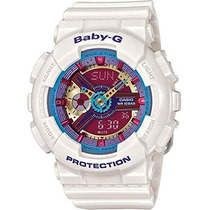 Reloj Casio- Baby-g Ba112-7a Blanco