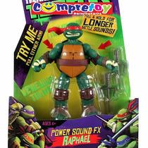 Tartarugas Ninja Articulados C/acessóriosoriginal Multikids