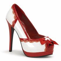 Sapato Para Fantasia De Enfermeira