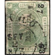2513 Clásico Hidalgo Perfil Mérida #27 73 6c Usado 1873