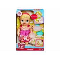 Novo Brinquedo Boneca Hasbro Baby Alive Hora Do Chá A9288