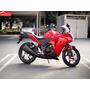 Moto Honda Cbr250r Año 2016 Color Negro, Rojo