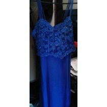 Vestido Azul Modern Touch Talla Xl Adaptable