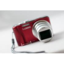 Camara Panasonic Dmc- Zs20 Red (tz30) + Transcend 16 Gb