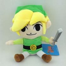 Peluche Link The Legend Of Zelda Toon Link 18 Cm Nuevo!