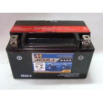 Bateria Moura Moto - 12v E 6ah P/ Burgman, Shineray, Xlr