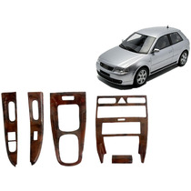 Kit Painel Madeira Audi A3 1997 A 2006 2pt Painelkit