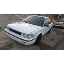 Toyota Corolla Año 1990 Mecanico Fm 4 Puertas Color Blanco