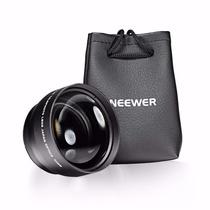 Super Lente 52mm Telefoto 2.2x Câmera Dsrl Nikon Sony Canon