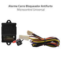 Alarme Carro Bloqueador Antifurto Microcontrol Universal