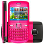 Nokia C3-00 Rosa Cam 2mp, Qwerty, Wi-fi, Mp3, Fm, Bluetooth