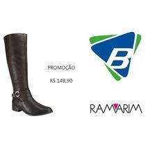 Bota Ramarim Ref-1456103 Café - Promoção!!!