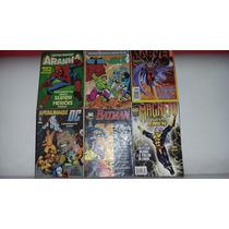 Marvel E Dc,super Coleção Com 6 Gibis