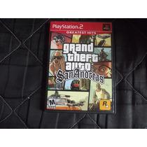 Grand Theft Auto Sanandreas Original Para Playstation 2