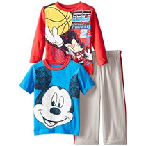 Mickey Mouse 3 Piezas Disney Little Boys
