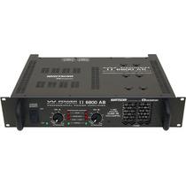 Amplficador Potencia 1.020w Rms Ciclotron W Power 6800