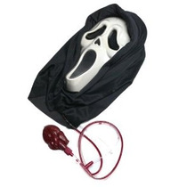 Ghost Sangrado Face Mask Costume Accessory