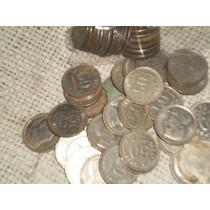 Lote De Antiguas Monedas De 50 Centavos Monedad Nacional