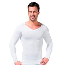 Camiseta Térmica Reductora Hombre Blanca Talla L / Rebajas