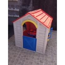 Casinha Infantil De Plastico Usada
