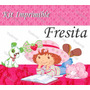 Kit Imprimible Strawberry Fresita Rosita Invitaciones