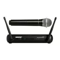 Microfone Wireless Shure Svx ( Nunca Foi Usado )