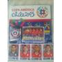 Album Copa America Chile 2015,laminas A Pegar