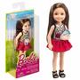 Muñeca Barbie Chelsea Noche Películas Diversión Con Madison