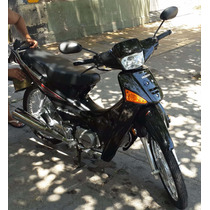 Honda Wave Negra Impecable