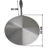 Pa Pegador Para Pizza Em Aluminio - Cabo Injetado Aluminio
