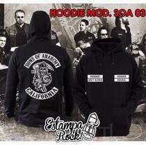 Buzos Canguro, Con Capucha, Sons Of Anarchy, Colores Unicos!