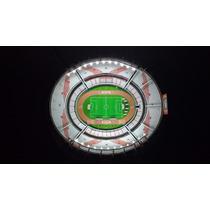 El Monumental Estadio River Luces Led Maqueta Luz Puzzle 3d