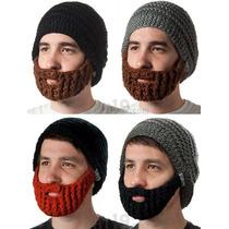 Gorro Con Barba Crochet