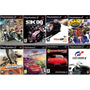 Cars Race O Rama Play 2 Carros (kit 8 Jogos Ps2 Corrida
