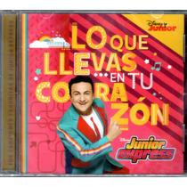 Topa - Lo Que Llevas En Tu Corazon Cd 2016 - Los Chiquibum