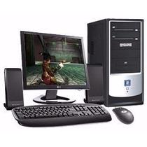 Computadoras Dual Core Super Completas 320gb Cornetas Camara