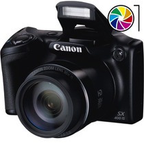 Canon Sx400 Is 16mp Video Hd Zoom 30x Lcd 3¨ Batería Factura