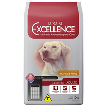Ração Dog Excellence Raça Grande Adulto Frango/arroz 15kg