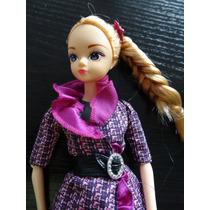 Hermosa Barbie Basic Con Vestido Original
