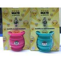 Super Promo 12 Mates Con Bombillas De Emoticones. Novedad