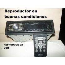 Reproductor De Cd Pioner Modelo Deh 2400 Ub Usb Subwoofer