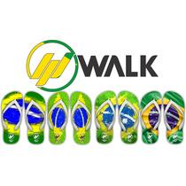 Chinelos Bandeira Do Brasil - Brazil - Brasil - País Brasil