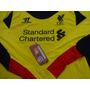Camisa De Goleiro Liverpool Inglaterra Warrior Importada G