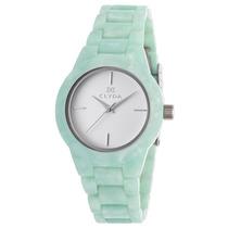 Reloj Clyda Cla0520stix Es Mint Green Acetate White Dial